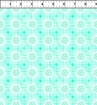 Treasures of Nature Floral Tonal Aqua